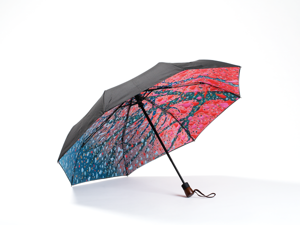 JUST ANOTHER WINTER -  Compact Umbrella, Gift Box Included - zontjkdesign