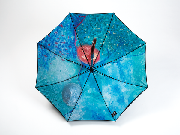 SILENCE - Straight Art Umbrella - zontjkdesign