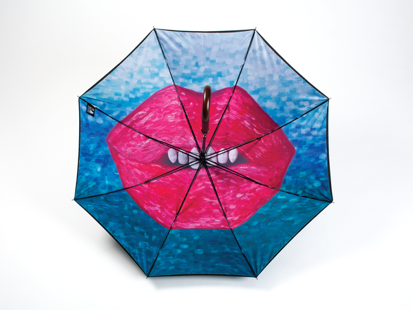 SMILE - Straight Art Umbrella - zontjkdesign