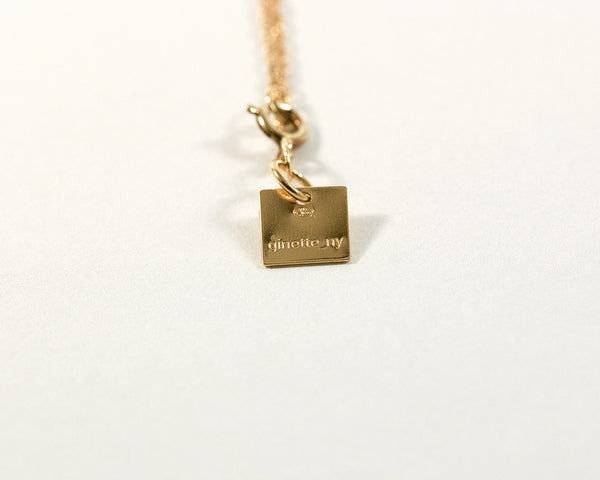 Pendentif Noeud - Ginette NY