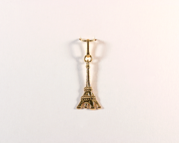 GM369-6 ICYMI Pendentif or jaune Tour Eiffel - Gold eiffel tower pendant