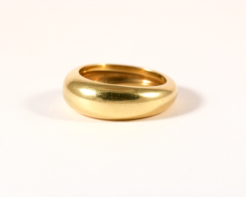 GM377 ICYMI Bague jonc or jaune - Gold band ring