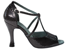 Load image into Gallery viewer, Anais Black Ladies Social Dance Shoes - Anita Flavina