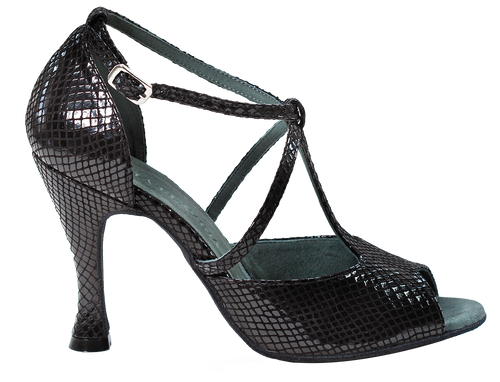 Anais Black Social Dance Shoes - Anita Flavina