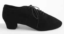 Load image into Gallery viewer, Soul Ladies Practice Dance Shoes Black Suede - Anita Flavina
