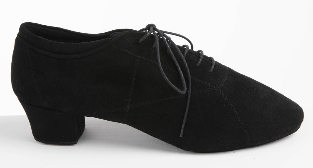 Soul Ladies Practice Dance Shoes Black Suede - Anita Flavina