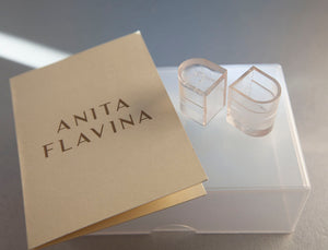 Ladies Latin Shoes Heel Protectors - Anita Flavina