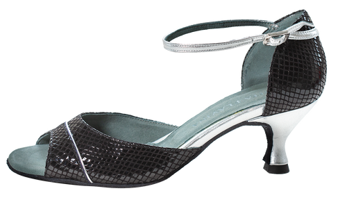 Shine Black Social Dance Shoes - Anita Flavina