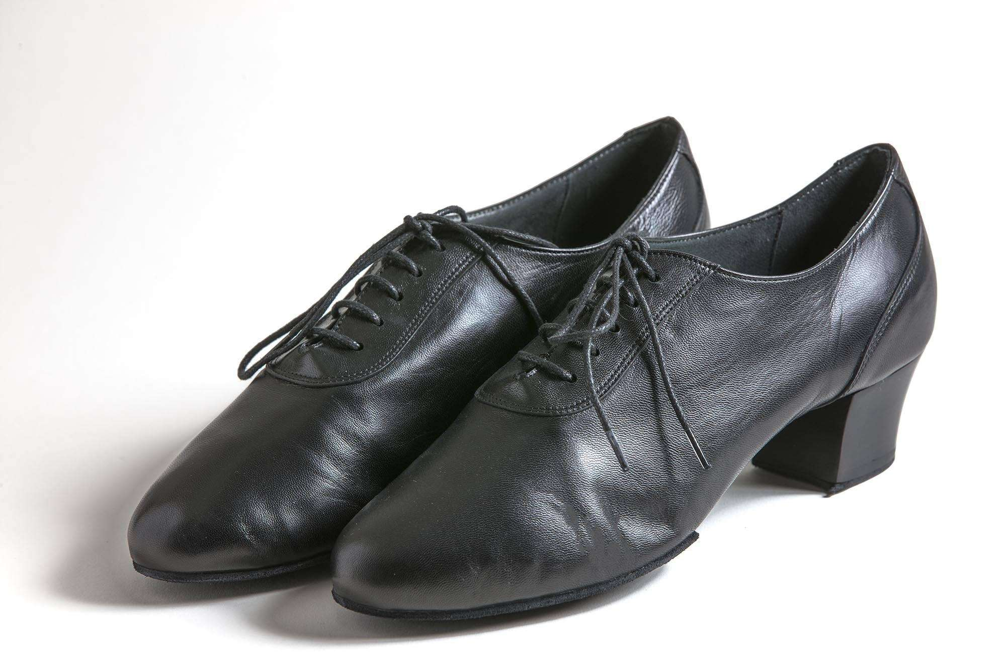 Sergio Leather Men's Latin Dance Shoes - Anita Flavina