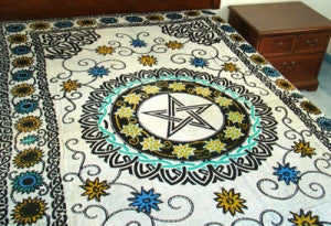PENTACLE TAPESTRY