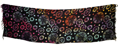 SUNS AND STARS ALTAR CLOTH 22x72