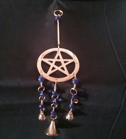 PENTACLE WIND CHIME