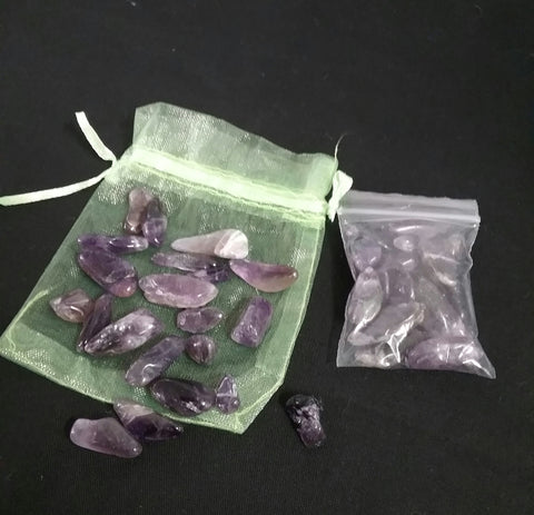 MINI AMETHYST TUMBLED STONES