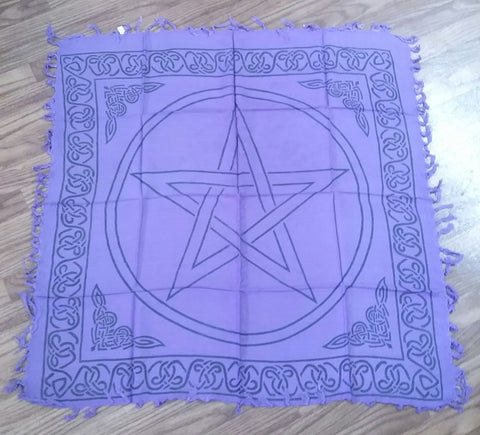 PENTACLE ALTAR CLOTH 36X36