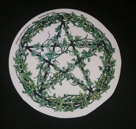 IVY PENTACLE STICKER/ DECAL