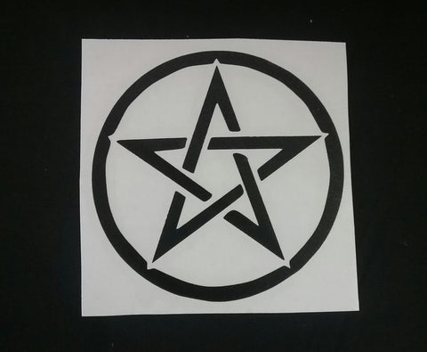 PENTACLE STICKER/ DECAL
