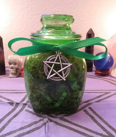 PROSPERITY/MONEY SPELL BOTTLE