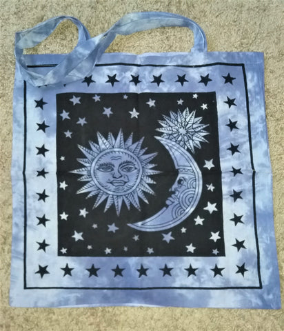 MOON WITH SUN TOTE BAG