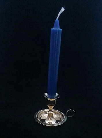 CANDLE HOLDER- BRASS