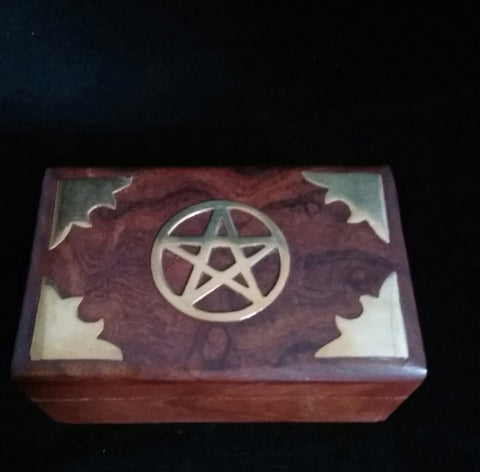 PENTACLE INLAID BOX