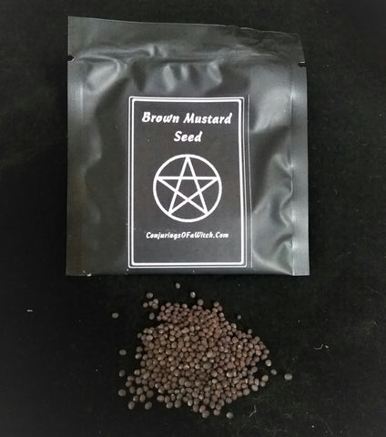 BROWN MUSTARD SEED SPELL SIZE  PACK