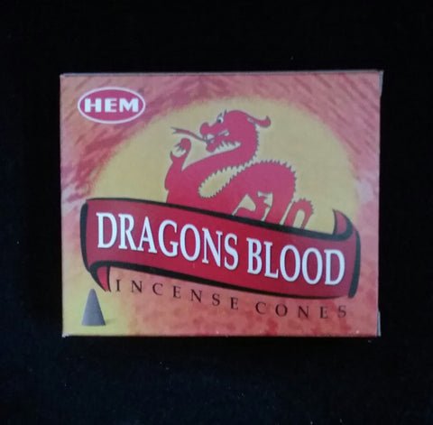 DRAGONSBLOOD INCENSE CONES