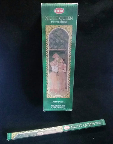 NIGHT QUEEN INCENSE 8-ct