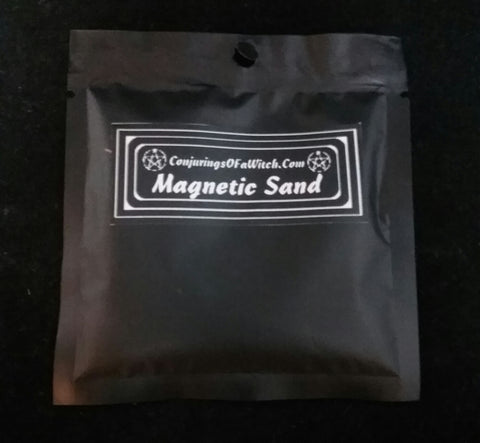 MAGNETIC SAND (LODESTONE FOOD)