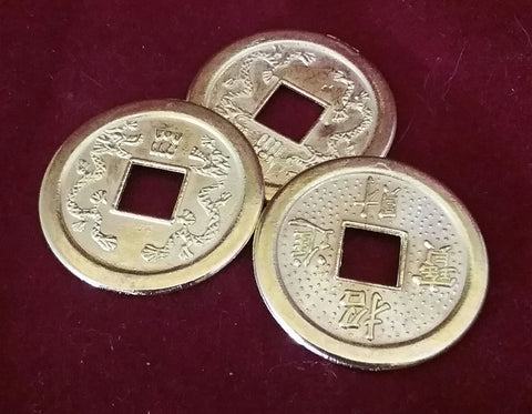 CHINESE FENG SHUI COINS FOR WEALTH AND SUCCESS