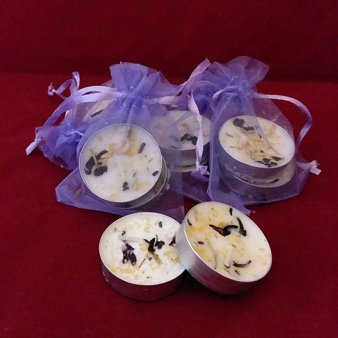 PSYCHIC VISIONS TEALIGHT SPELL CANDLES