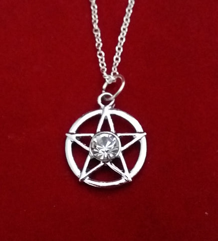 PENTACLE JEWEL NECKLACE