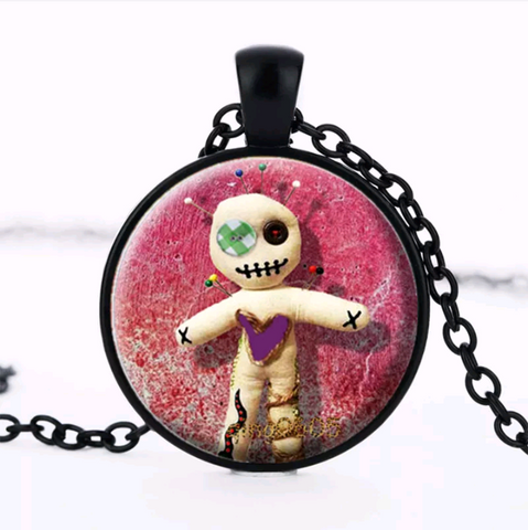 VOODOO DOLL NECKLACE