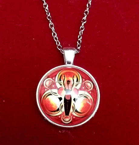 RED GODDESS NECKLACE