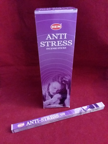 ANTI-STRESS INCENSE  8-ct