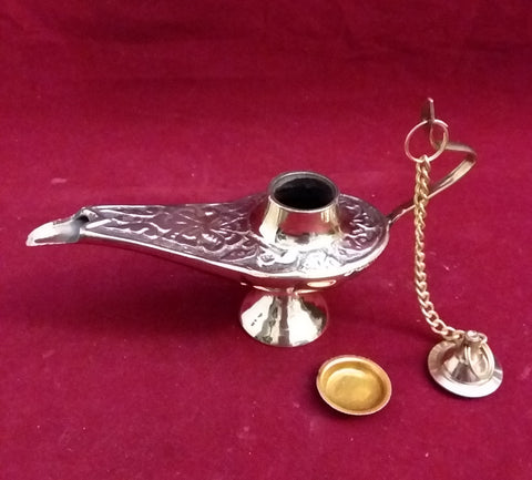 ALADDIN LAMP #2 INCENSE BURNER