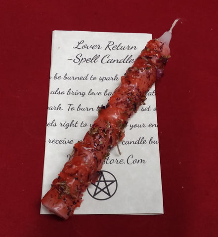 Lover return spell candle
