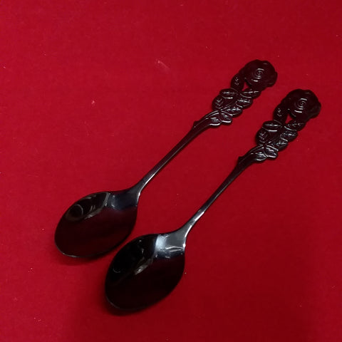 BLACK ROSE HERB RITUAL SPOON