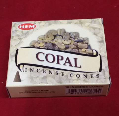 COPAL INCENSE CONES