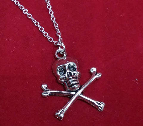 CROSS BONES NECKLACE