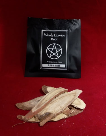 WHOLE LICORICE ROOT