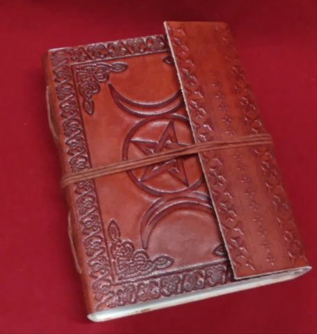 TRIPLE MOON PENTACLE JOURNAL  (BOS)