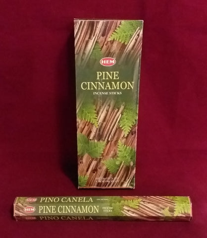 PINE CINNAMON INCENSE