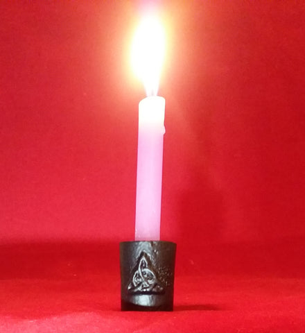 TRIQUETRA CHIME CANDLE HOLDER