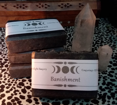 BANISHMENT INTENTION SOAP
