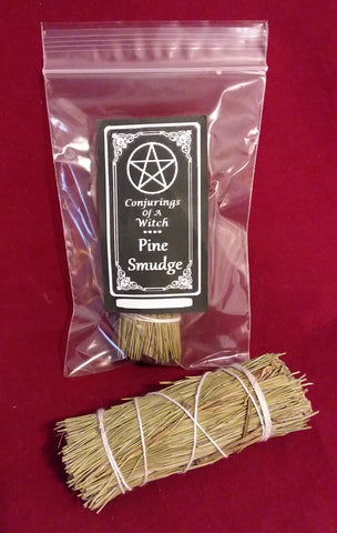 PINE SMUDGE BUNDLE-  3""