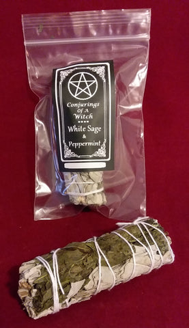PEPPERMINT & WHITE SAGE BUNDLE