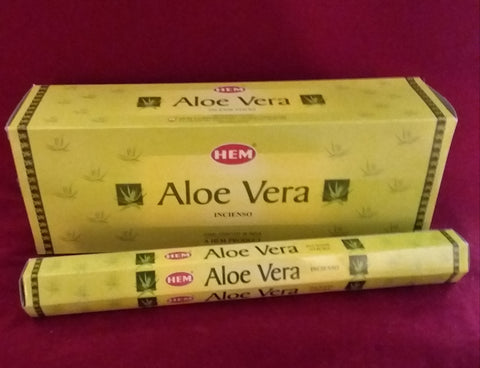 ALOE VERA INCENSE- 20 sticks