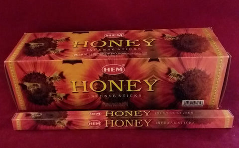 HONEY INCENSE  8-ct