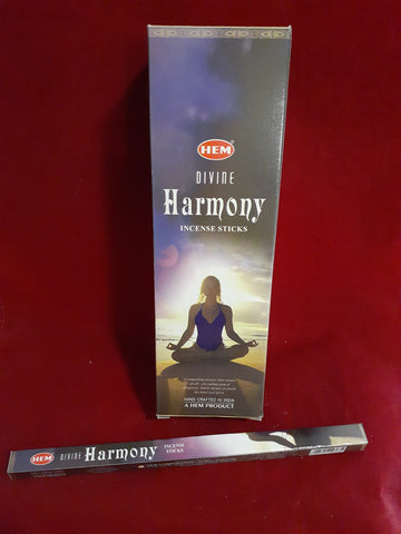DIVINE HARMONY INCENSE 8-ct