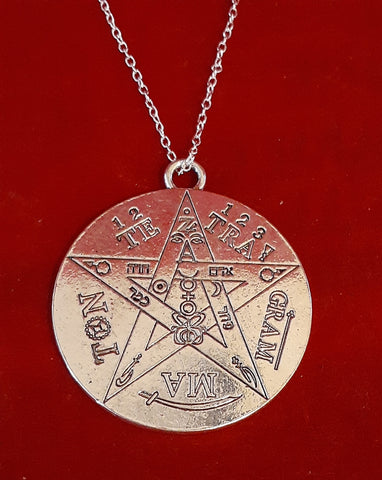 LARGE TETRAGRAMATON NECKLACE